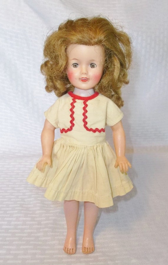 1950 S Vintage Shirley Temple Doll 12 Inch Vinyl By Ideal