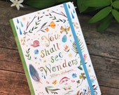 You Shall See Wonders Notepad Folio | Notebook | Journal | Shakespeare | Katie Daisy