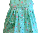 """GIRLS DRESS PATTERN,  """"The Maddie Lou Dress"""", sizes included to fit ages 2-6, instant digital download, 22 picture photo tutorial included"""