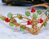 Rowan Berry Celtic Tree of Life Tiara