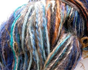 handmade component yarn, Patina
