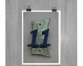 11 Eleven - 4 x 6 photograph