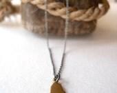 Tiny Maine Necklace…oxidized