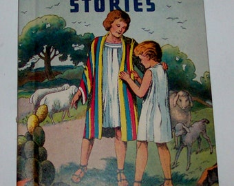 1939 Old Testament Stories Children's Book by Rand McNally