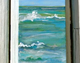 "Custom Sand painting order  4""x12"""