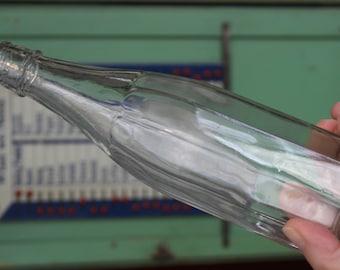Clear Glass Vintage Bottle