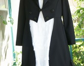 Custom Tailcoat and Ruffle Dress