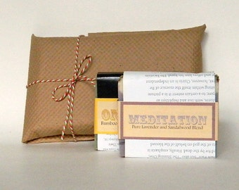 Handmade Soap Gift Set /  Bath Set of Soaps / No. 1