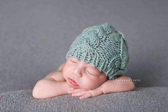 Knitting Photography Props : Newborn hat pattern knitting patterns knit baby
