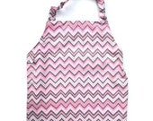 Pink Chevron Apron - Toddler & Primary