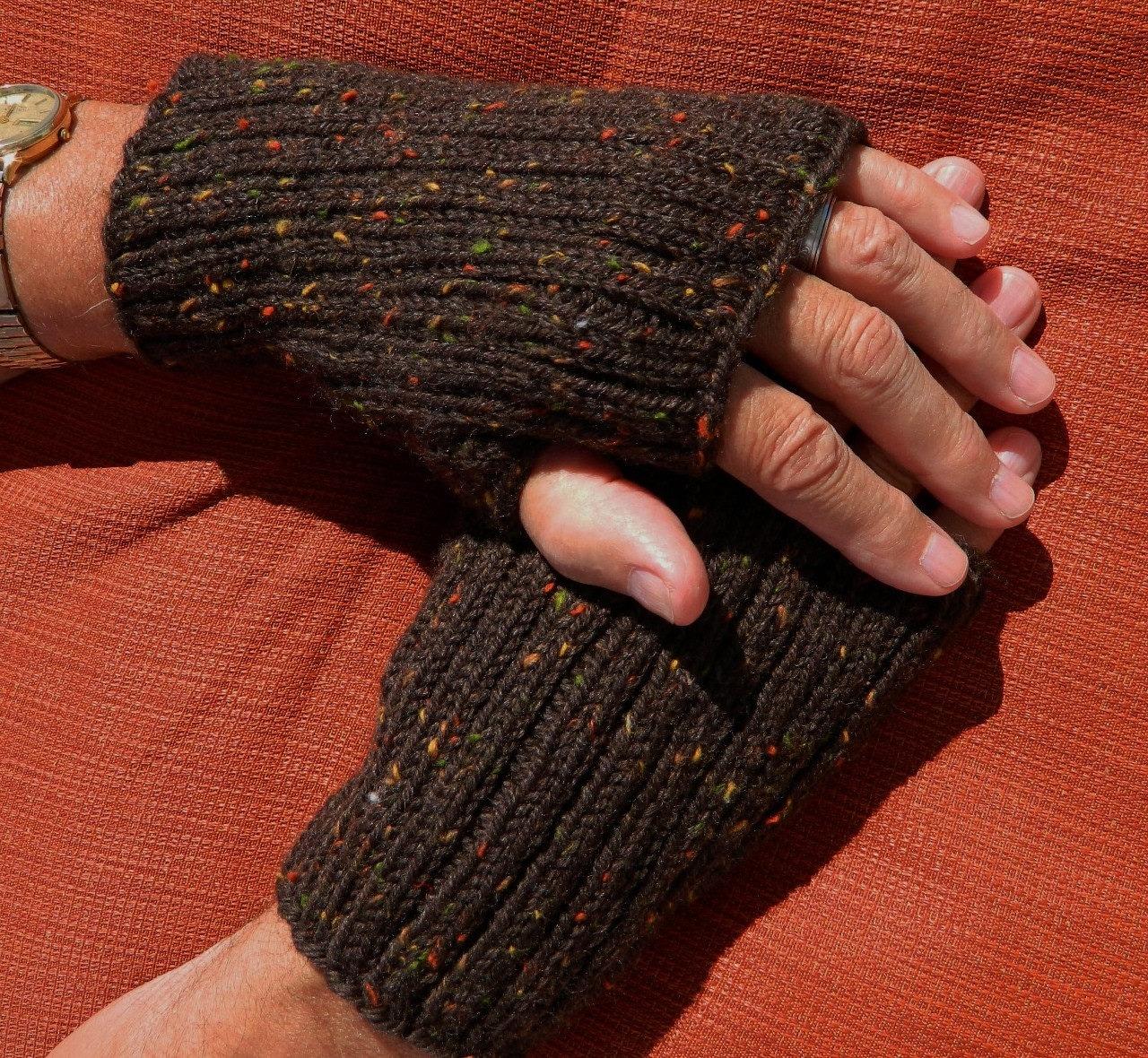 Mens Fingerless Gloves Pattern Pdf 1113fg Texting Gloves