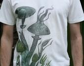 Males Fair Wear and Organic T-Shirt - Mycorhizool V2