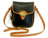 Dooney and Bourke Cavalry Bag // Black and British Tan AWL (Reserved fort Wendy)