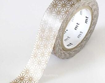 Holiday GOLD STAR Japanese Washi Tape 15mm MT Masking Tape