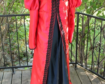 "SALE Bust 40"" 2 pc Valentine's Ball Regency Jane Austen Dress Renaissance Gown Medieval Bust 40"""