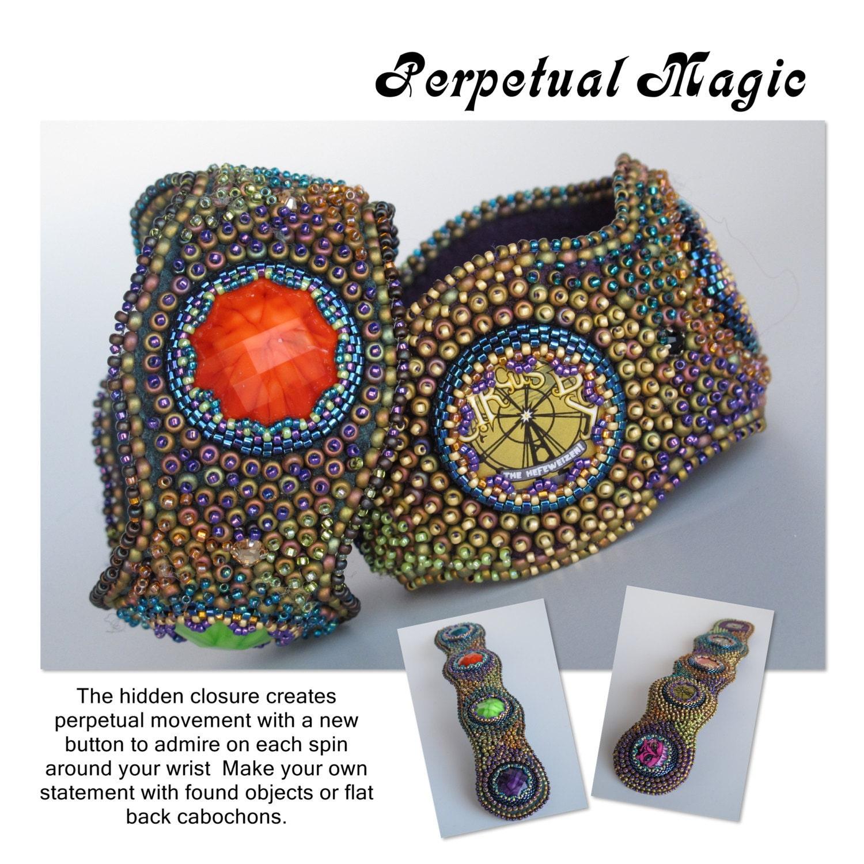 Tutorial perpetual magic bead embroidery