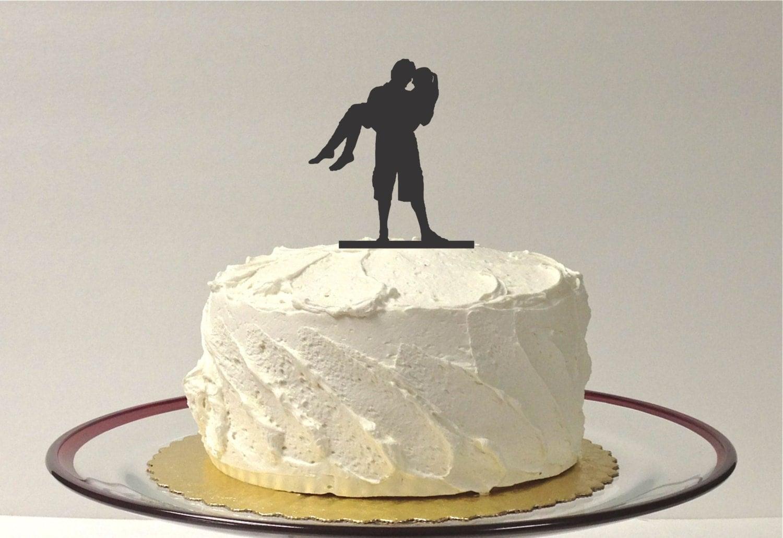 MADE In USA Beach Wedding Cake Topper Beach Themed Cake