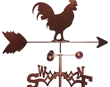 Hand Made Rooster Chicken Weathervane NEW