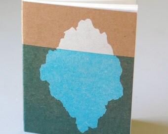 Iceberg Notebook Journal