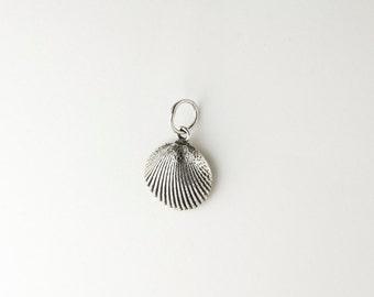 Seashell Sterling Silver Charm/Pendant