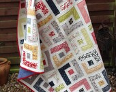 PDF Quilt Pattern for Jelly Rolls - 6 sizes Baby to King - Marcie's Maze