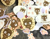 Retired Sanrio Chococat Sack-O-Stickers (100)