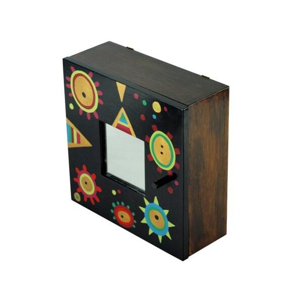 Items Similar To Key Cabinet Black Key Box Wall Hanging