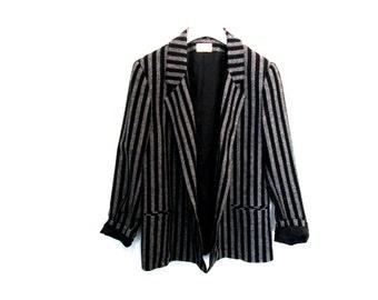 90's Striped Wool Blazer size - M