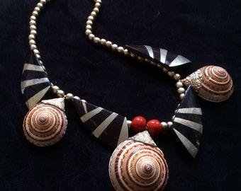 Tribal Seashell Necklace