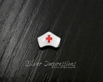 Nurse Floating Charm /  Locket Charms /  Memory Locket Charms
