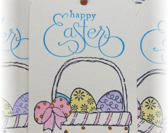 Easter Basket Tags  - Easter Eggs - Tags (8)