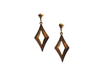 SALE Rhombus Stud Earrings