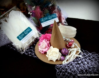Glenda - Pastel Witch Hat Kit - DIY Halloween Costume