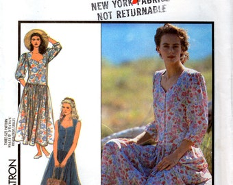 Style 1536 Misses' Dress Sewing Pattern - Uncut - Size 6, 8, 10