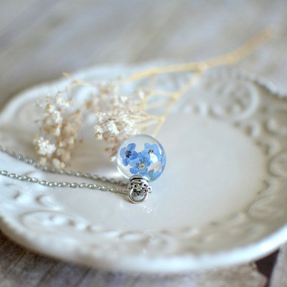 Forget Me Not Rings Etsy