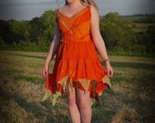 Festival fairy dress, Made to order in your choice of colours. Adult fairy costume; woodland bridesmaid dress; festival clothing