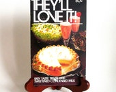 Vintage Cookbook / Mid Century / They'll Love It - Treats with Sweetened Condensed Milk  from BORDEN