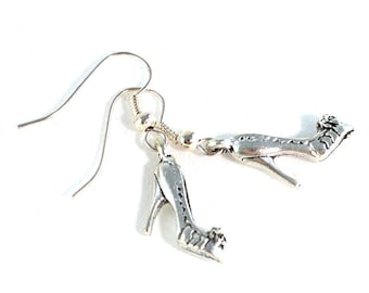 Cinderella Shoe Earrings