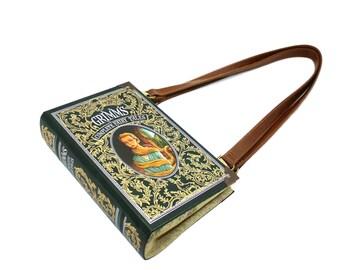 Grimm's Fairy Tales Book Purse - Decadence Bookpurse handbag or upcycled clutch -