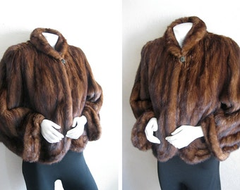 MINK SaLe! FUR Jacket Capelet for Repurpose . . Teddy Bears Pet Beds Doll Clothes