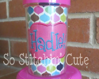 Moroccan Personalized Sippy Cup & Snack Container