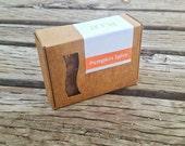 Pumpkin Spice Soap - VEGAN Soap Bar - Handmade Castille Soap - Palm Free Soap - Clove Soap - Pumpkin Seed Oil Fall Soap
