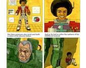 Michael Jackson Child Robot - Comic print