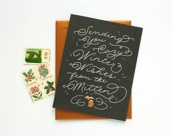 Michigan - Box of 8 - Cozy Wishes Holiday Card