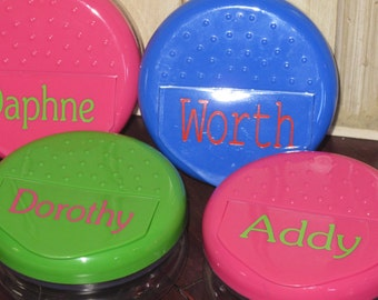 Personalized Snack Container