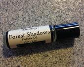 FOREST SHADOWS Premium Artisan Perfume Oil ~ cedar, ylang ylang, dragon's blood, fresh herbs ~ Free from alcohol, parabens, preservatives ~
