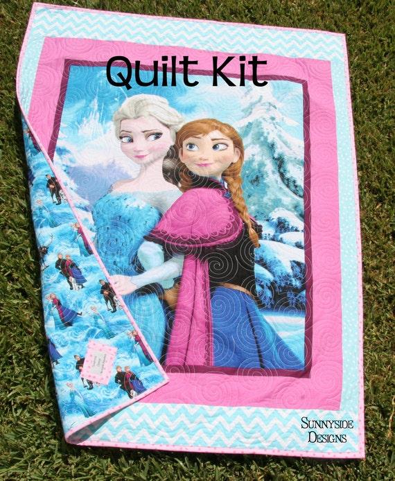 Frozen Quilt Kit Panel Baby Toddler Bedding Disney Fabrics