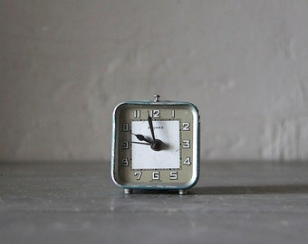 Cute Vintage French Mid Century Bayard Alarm Clock