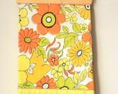 Citrus Coloured Pair of Vintage Pillow Cases