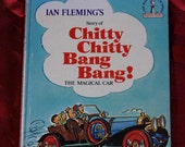 Chitty Chitty Bang Bang Ian Fleming Al Perkins B Tobey 1968 Random House Illustrations Children Young Adults Flying Car Paris France